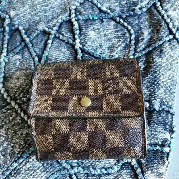 💯 authentic LV Damier fording wallet